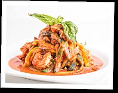 The CrossFit Kitchen: Creamy Shrimp Zucchini