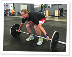CrossFit Lifeguard: Kristi Barnes