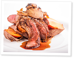 The CrossFit Kitchen: Super Radical Tri-Tip With Balsamic Apple Compote